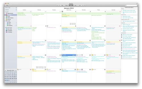 Os melhores calendários para o seu Mac  – Parte I