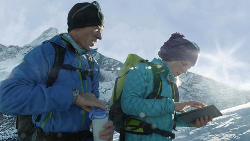 Conheça os Alpinistas que Usam o iPad em Suas Aventuras