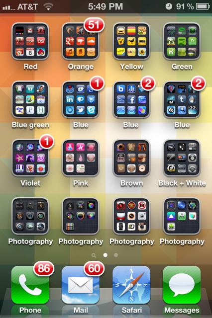 5 Maneiras Legais de Organizar Seus Apps