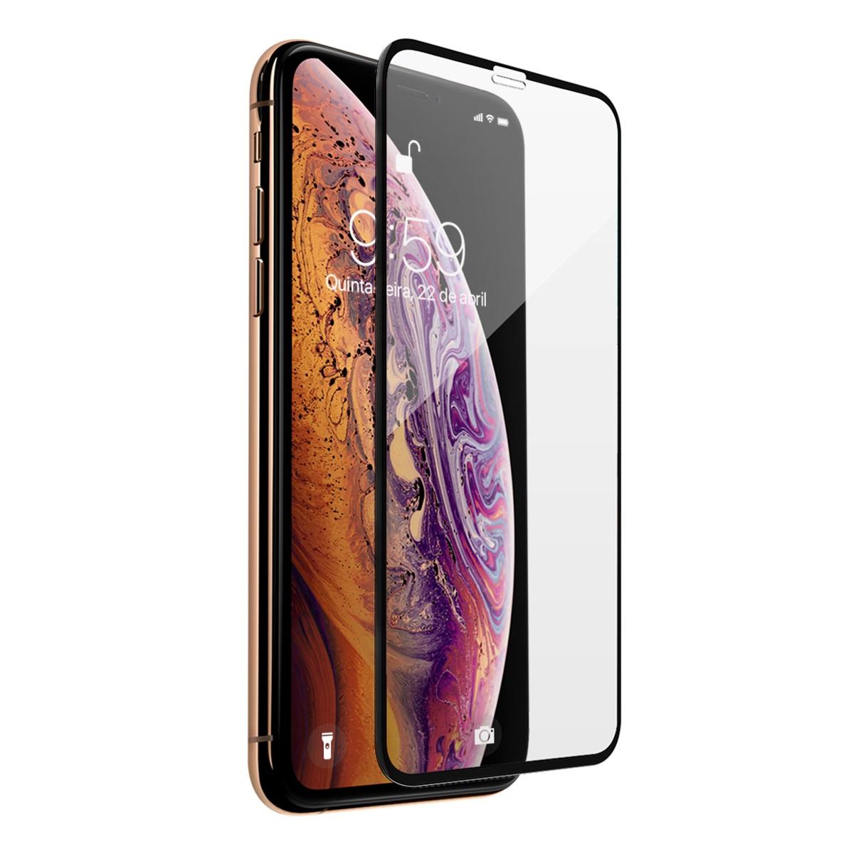 Película de vidro iPhone XS Max