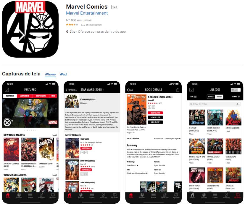 app-marvel-comics